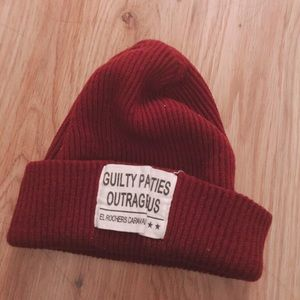 Urban Outfitters Knit Beanie  Maroon